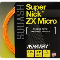 Ashaway SuperNick ZX Micro Squash String Set - Orange