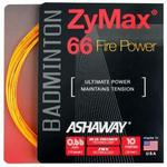 Ashaway Zymax 66 Fire Power Badminton String Set (Choose Colour)