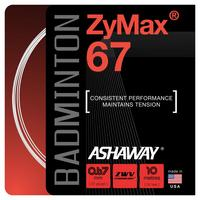 Ashaway Zymax 67 Badminton String Set - Choose Colour
