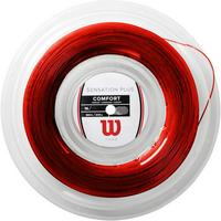 Wilson Sensation Plus 16 (1.34mm) 200m Tennis String Reel - Red