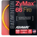 Ashaway Zymax 66 Fire Badminton String Set - Orange