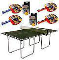 Butterfly Start Sport 12mm Indoor Table Tennis Table Set - Green