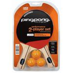 Ping-Pong Performance 2 Player Table Tennis Bat Set