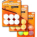 Ping-Pong 1-Star Table Tennis Balls - Pack of 6