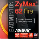 Ashaway Zymax 62 Fire Badminton String Set - Choose Colour